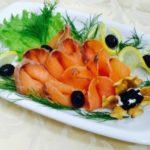 Польза и вред красной рыбы семги слабосоленой, соленой
