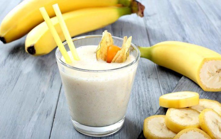 бананы с молоком польза и вред