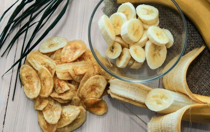 банановые чипсы польза и вред