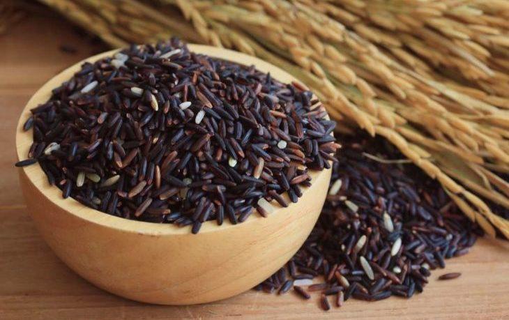 черный рис польза и вред