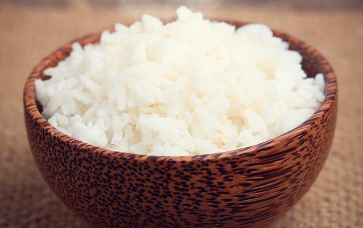 вареный рис польза и вред