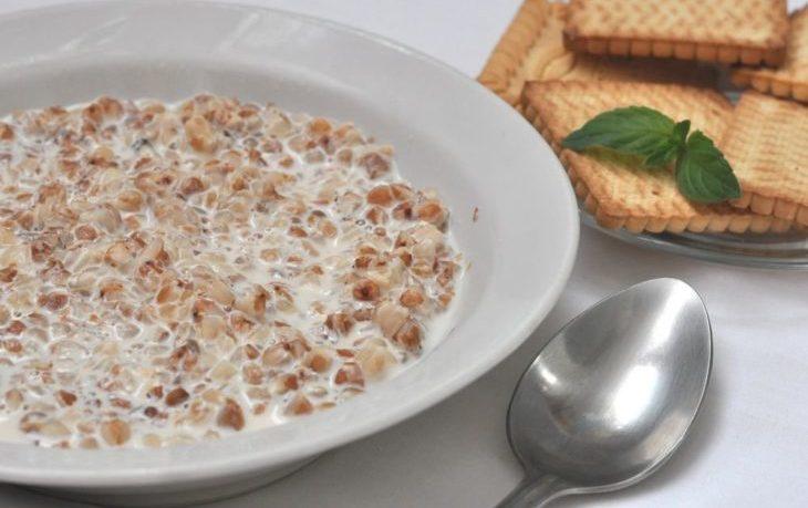 гречневая каша с молоком польза и вред