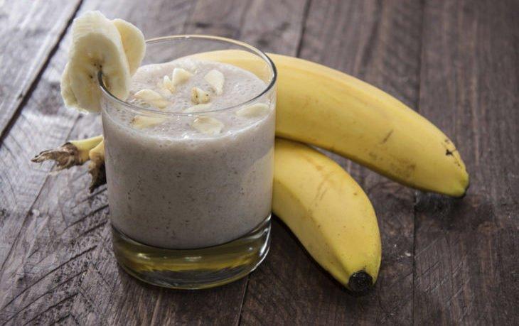 кефир с бананом польза и вред