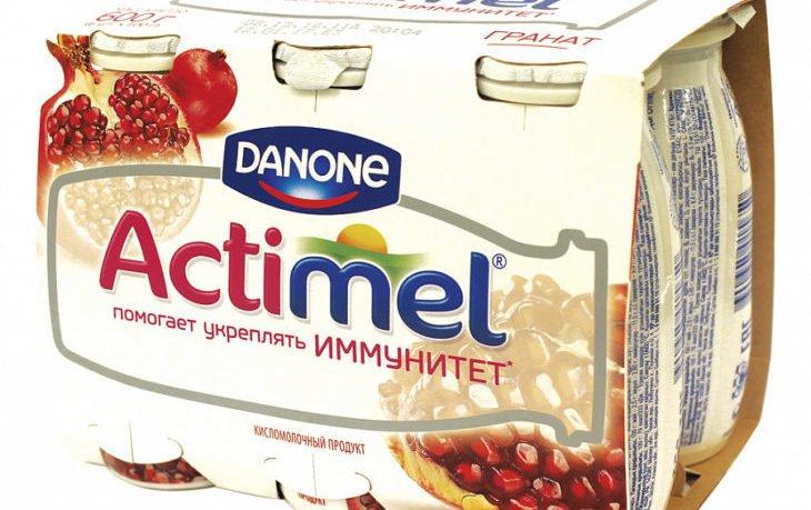 йогурт актимель польза и вред