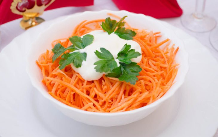 морковь и сметана польза и вред