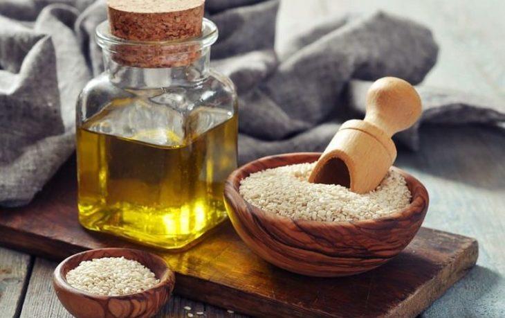 кунжутное масло для волос польза