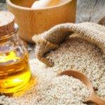 Польза и вред кунжутного масла нерафинированного, натощак, холодного отжима