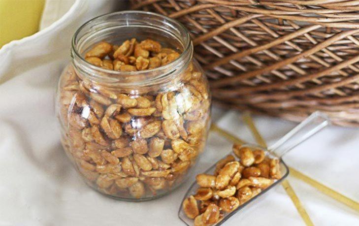 арахис с медом польза и вред