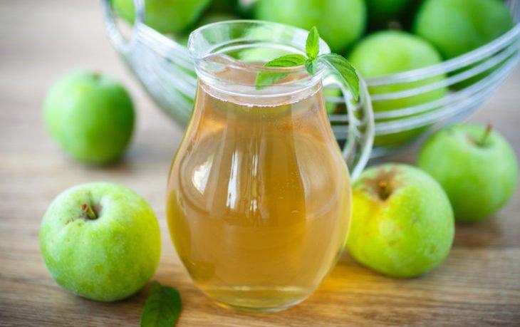 компот из яблок польза и вред