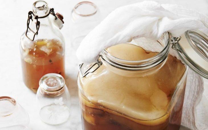 настой чайного гриба какая польза для организма