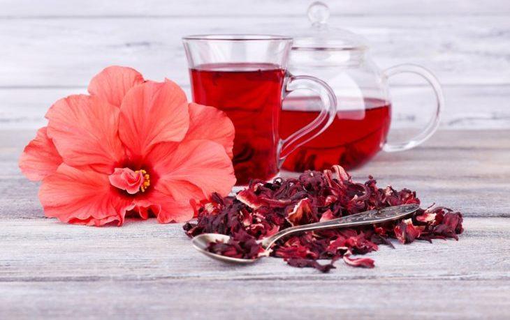 красный чай каркаде польза