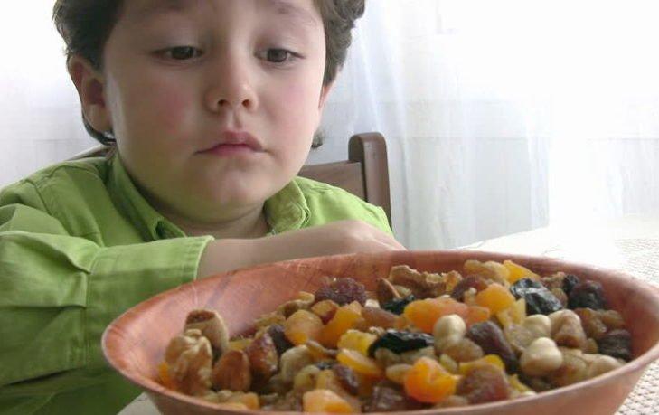 изюм польза и вред для детей