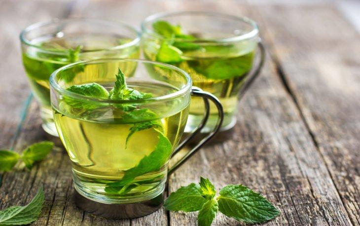 мята перечная в чае польза