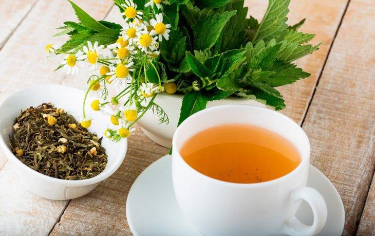 чай ромашка с мятой польза и вред