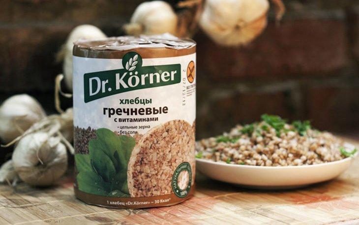 хлебцы хрустящие dr korner польза и вред