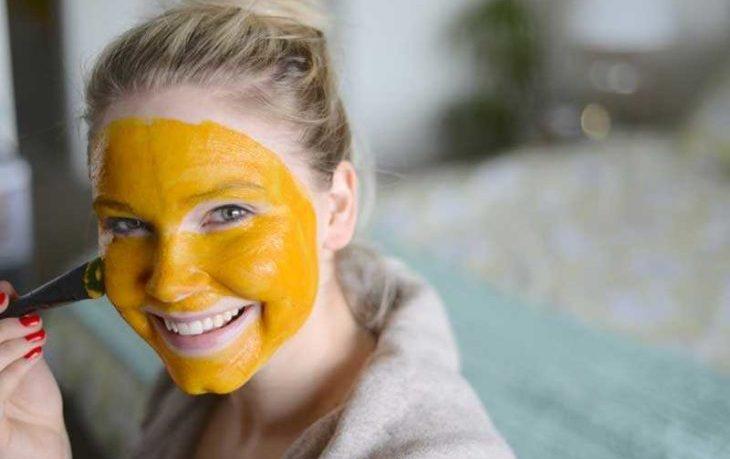 польза куркумы для кожи лица