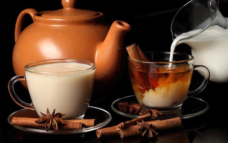 почему нельзя чай с молоком