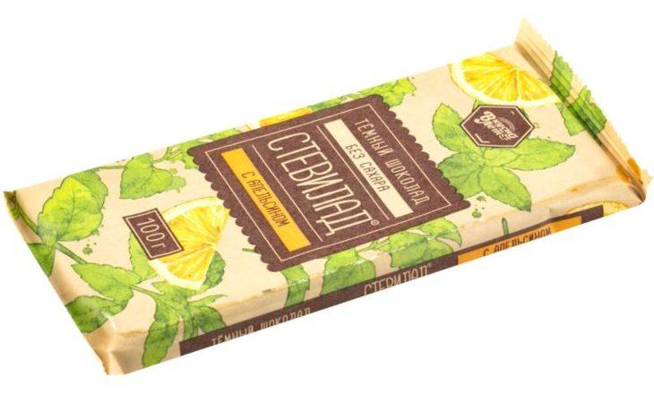 польза шоколада со стевией