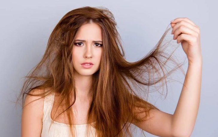сухие волосы почему