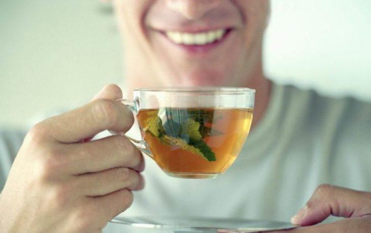 мужчинам вредно пить мятный чай
