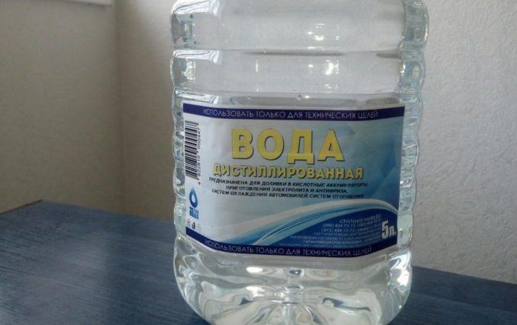 вредно ли пить дистиллированную воду