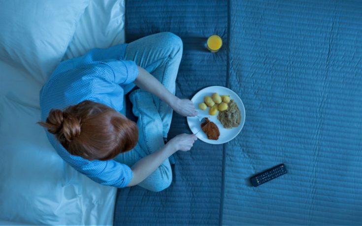 вредно ли кушать перед сном