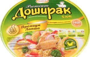 Почему вредно кушать лапшу быстрого приготовления Доширак