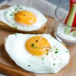Полезно ли есть яичницу на завтрак