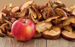 Полезно ли есть сушеные яблоки