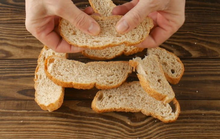 почему полезно есть подсушенный хлеб