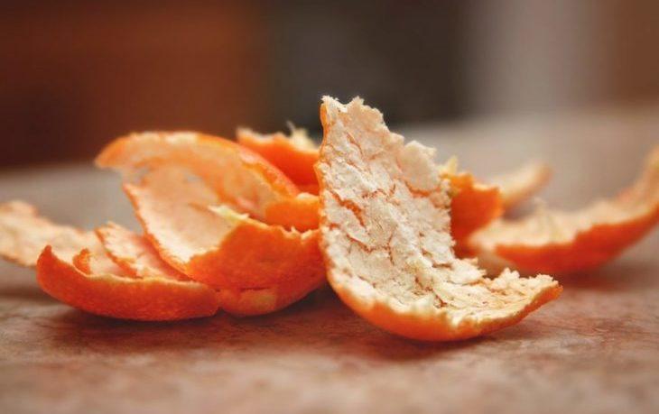 полезно ли есть шкурку от мандарина