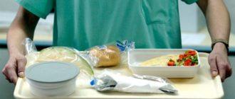 что нельзя есть при аппендиците после операции