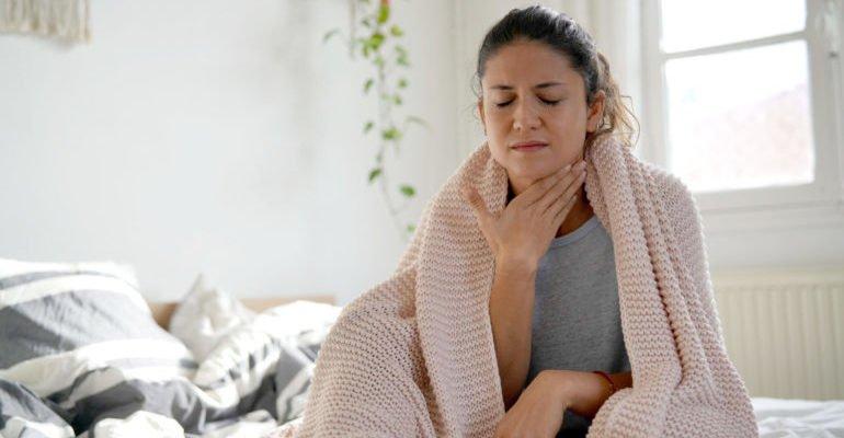 что нельзя есть при больном горле