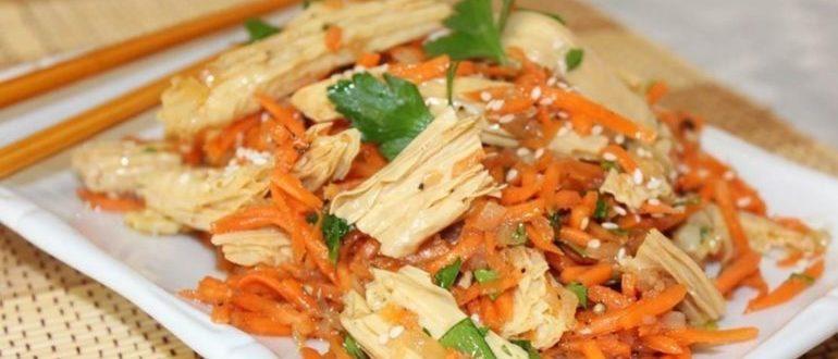 полезно или вредно есть спаржу по корейски