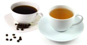 Что полезнее пить: чай или кофе