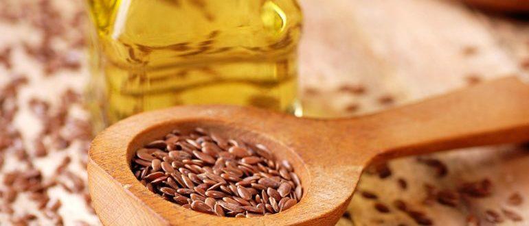 полезно пить льняное масло