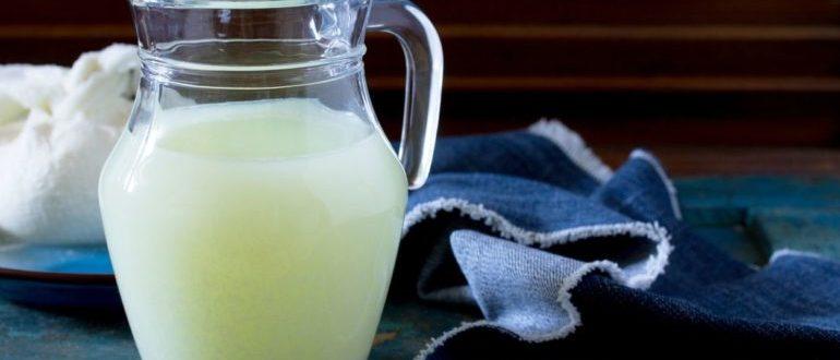 полезно или вредно пить сыворотку из-под творога
