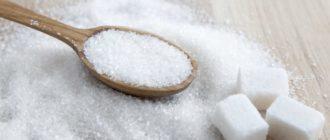причины не есть сахар