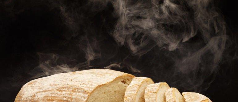 горячий хлеб вреден