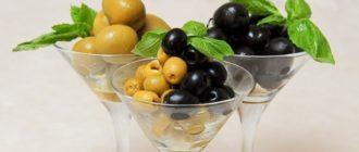 польза маслин