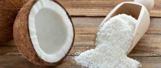 чем полезна кокосовая стружка