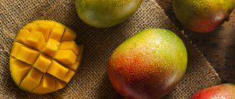 чем полезен фрукт манго