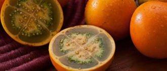 чем полезен фрукт наранхилья