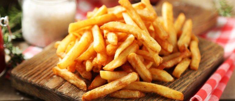 чем вреден картофель фри