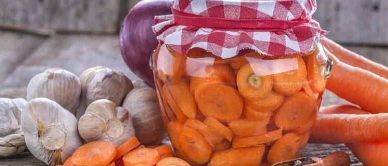 чем полезна консервированная морковь