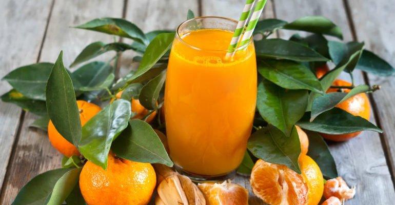 чем полезен мандариновый сок