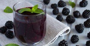 Ежевичный сок – кладезь полезных свойств