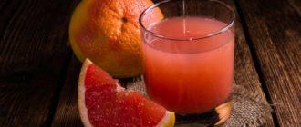 польза грейпфрутового сока