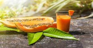 10 полезных свойств сока папайи