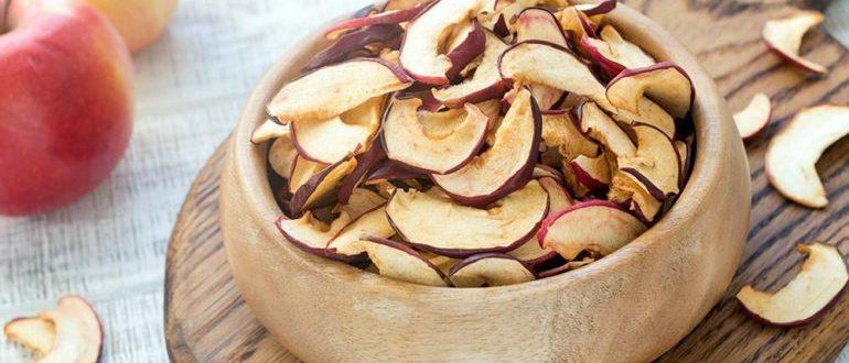 чем полезны сушеные яблоки